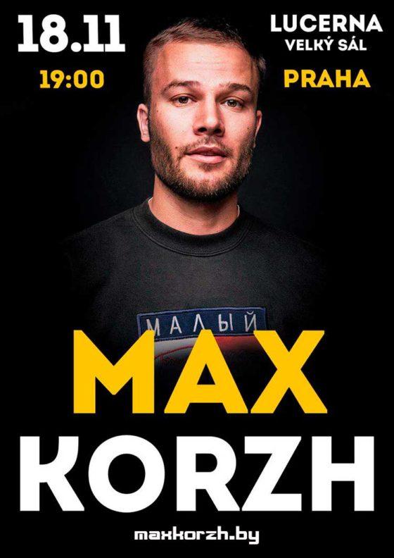 MAX KORZH Prague 2018